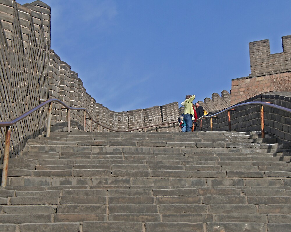 Great Wall of China by John  Lambert