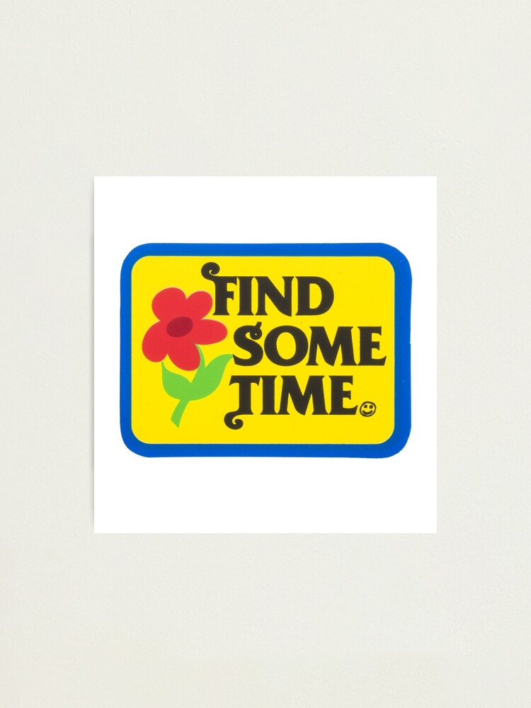Alternate view of Find Sometime | Tyler The Creator Photographic Print