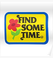 Find Sometime | Tyler The Creator Poster