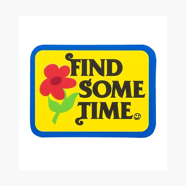 Find Sometime | Tyler The Creator Photographic Print