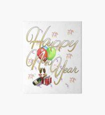 Happy New Year Art Board