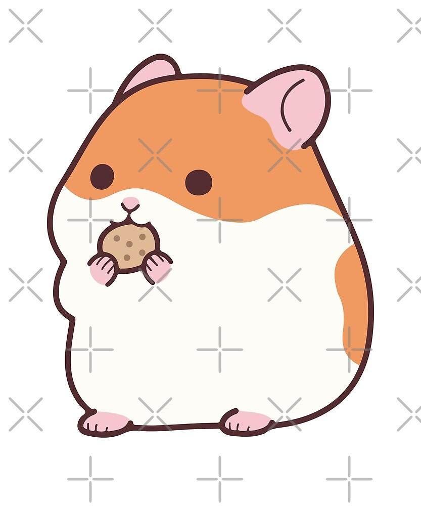 """Cute Hamster Emoji Funny Novelty Tee"" by JapaneseInkArt ..."