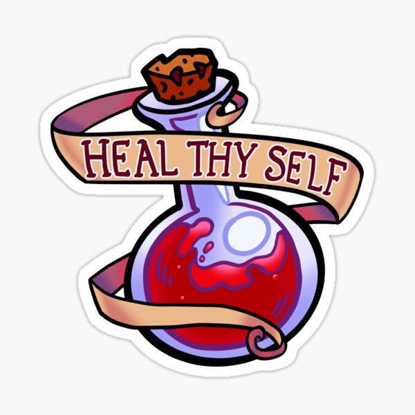 Heal Thy Self Sticker
