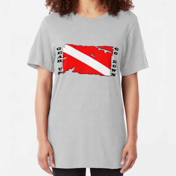 Gear Up, Go Down Slim Fit T-Shirt