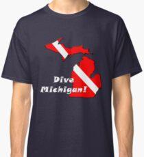 Dive Michigan 2 Classic T-Shirt