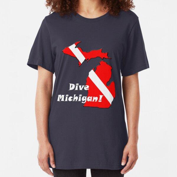 Dive Michigan 2 Slim Fit T-Shirt