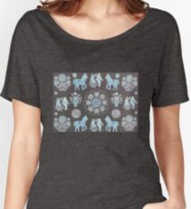 Mandala in Village Life Women's Relaxed Fit T-Shirt