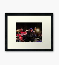 Tony DuPuis Theater Keys Water Color effect Framed Print