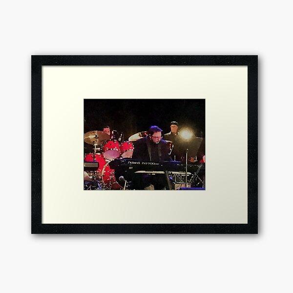 Tony DuPuis Theater Keys Water Color effect Framed Art Print