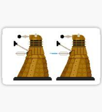Pixel Dalek Sticker