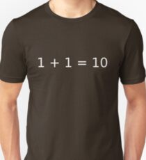 Computer Math Unisex T-Shirt