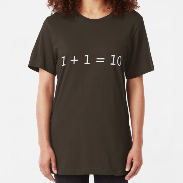 Computer Math Slim Fit T-Shirt