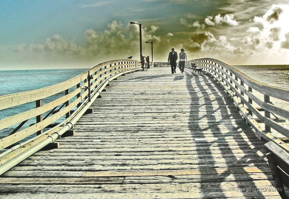 Cayucos Pier by morphingdreams
