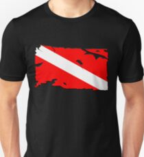 Divers Down Flag Unisex T-Shirt