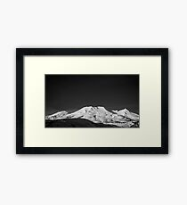 Lámina enmarcada Mount Ruapehu, New Zealand