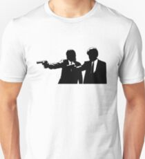 Vincent and Jules silhouette Unisex T-Shirt