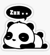 Sleeping panda Sticker