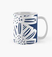 Perrett Flowers Blue White Mug