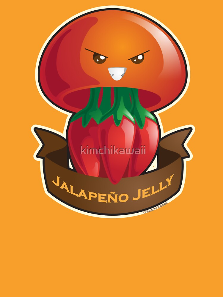 Cute Jalapeno Jellyfish Pun by kimchikawaii