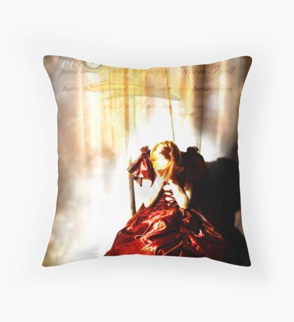 Compassion and Mercy Throw Pillow