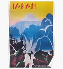 Japan Vintage Travel Poster Poster