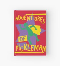 Adventures of Pickleman Hardcover Journal
