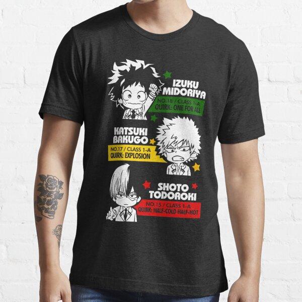 Deku, Kachan, and Todoroki Essential T-Shirt