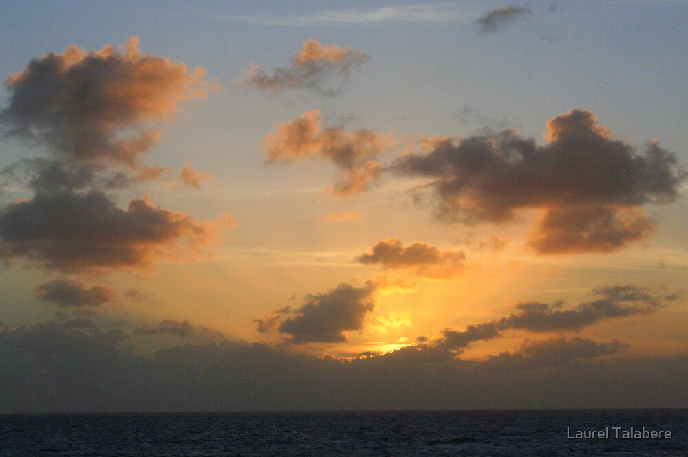 Sunset from Tobago * by Laurel Talabere
