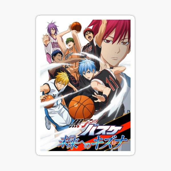 Gom Logo: Kuroko No Basket Stickers