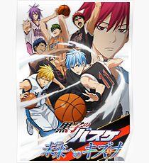 Kuroko No Basketball Poster