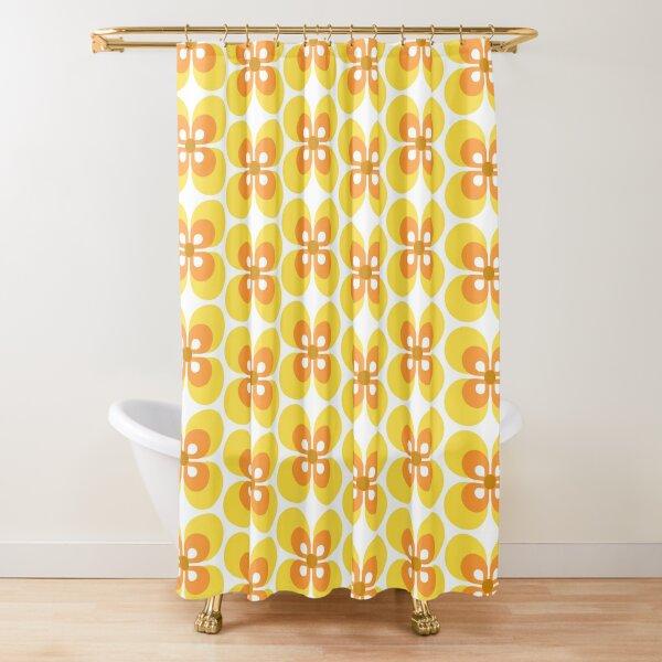70s Harvest Pattern 4 Shower Curtain