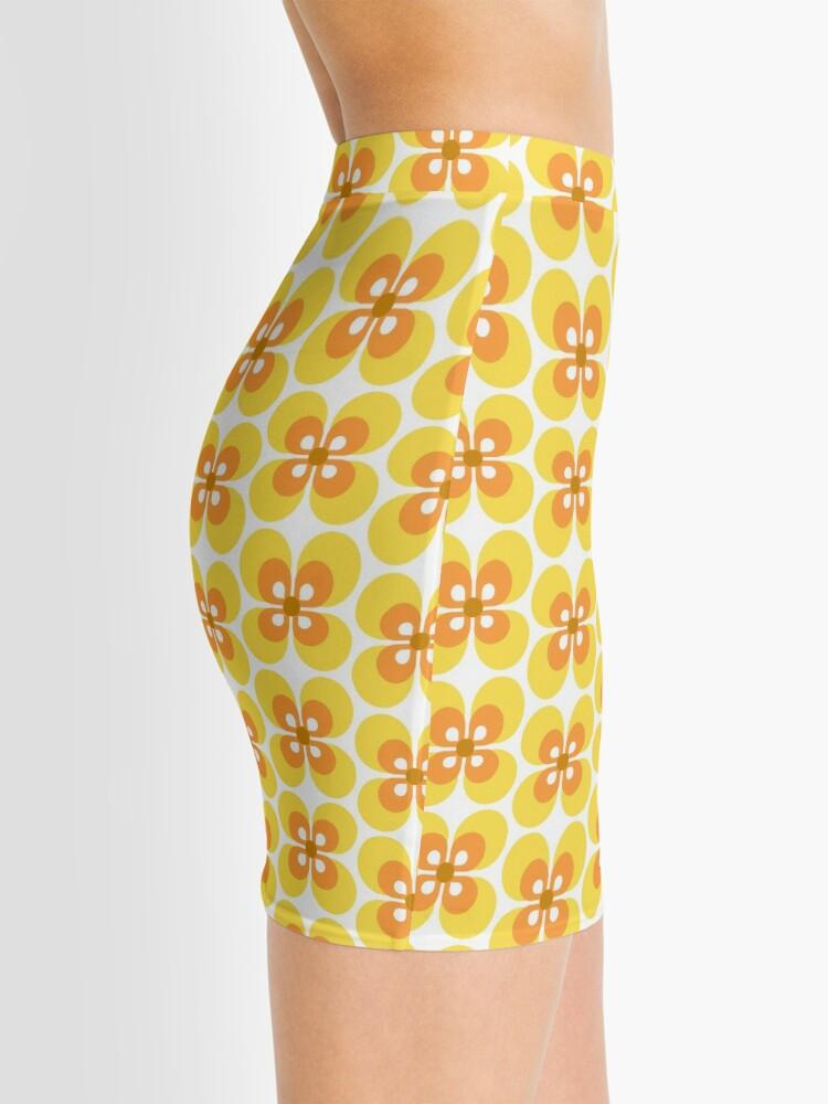 Alternate view of 70s Harvest Pattern 4 Mini Skirt