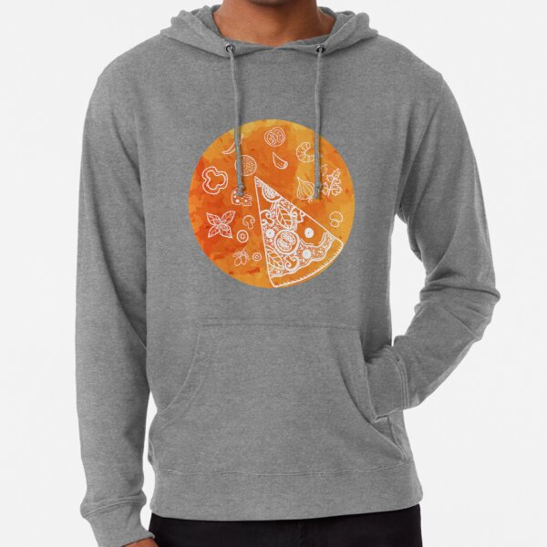 Vegetable Pizza is my choice - I love Pizza Lightweight Hoodie