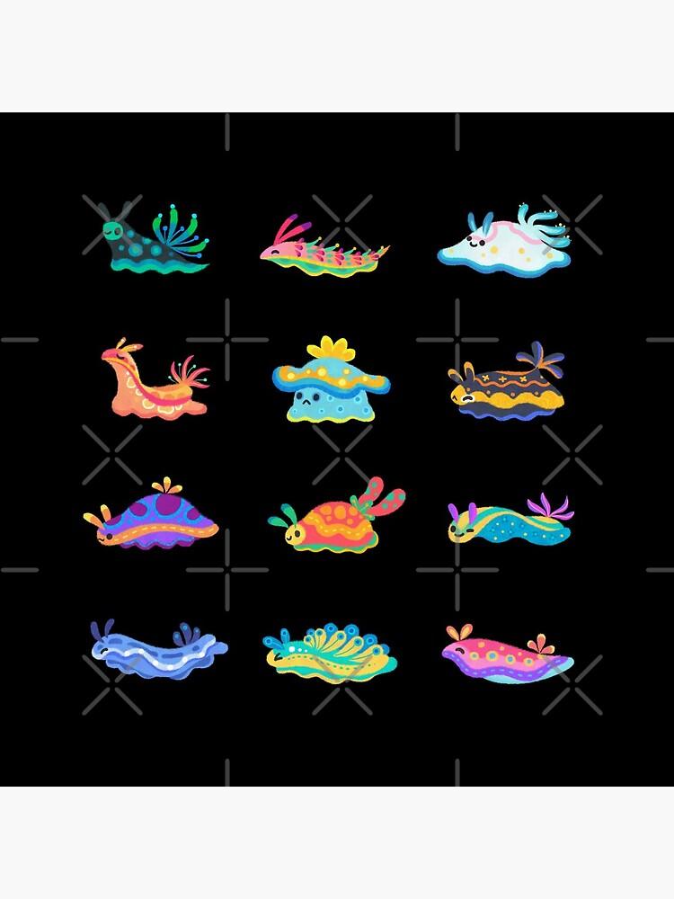 Sea slug - black by pikaole