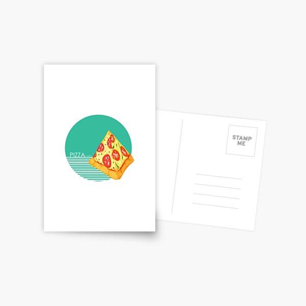 Pizza pyramid Greatest wonder - I love Pizza Postcard