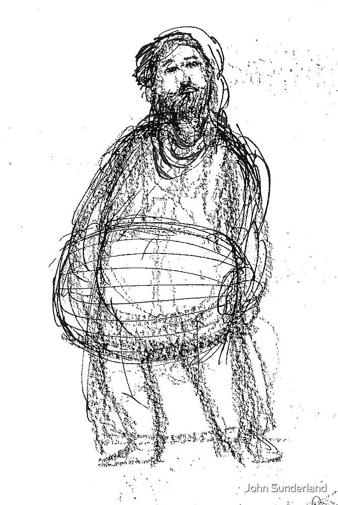 The Miller,character design sketch by John Sunderland
