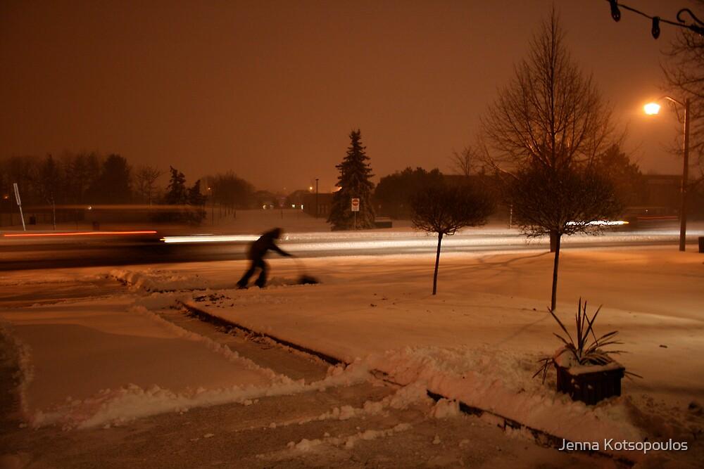 shovel that snow..i'll watch by Jenna Kotsopoulos