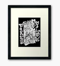 """""""MozArt"""" by Shawn Framed Print"""