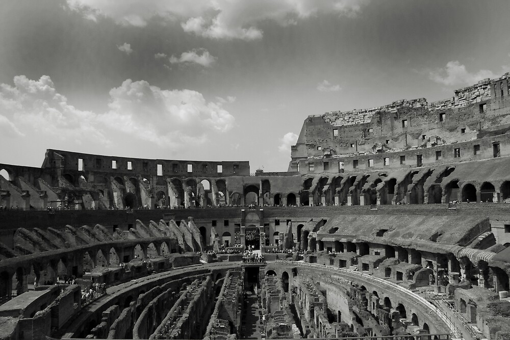Colosseum in Rome by Jye Murray