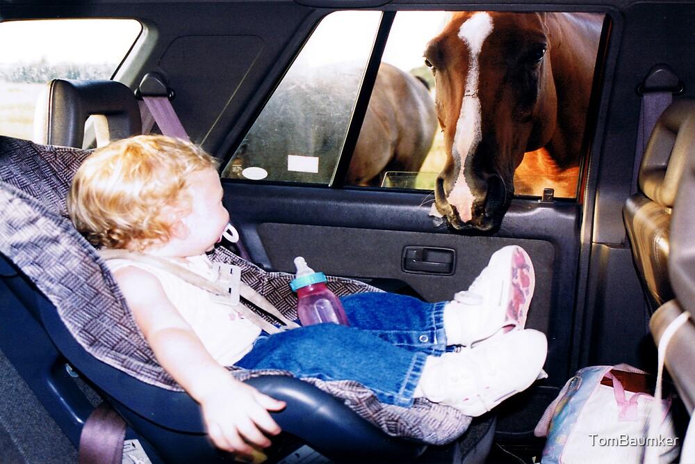 BABY & HORSE by TomBaumker