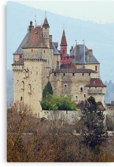 Menthon Saint Bernard castle by Patrick Morand