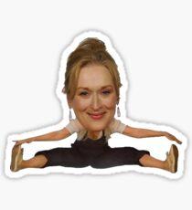 Meryl Streep Mamma Mia splits Sticker
