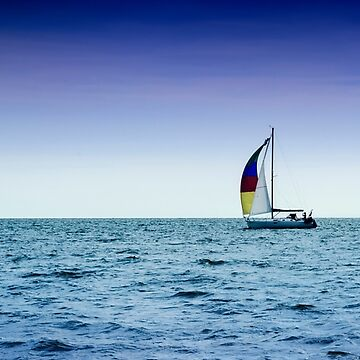 I Sail Alone by NeonAbstracts