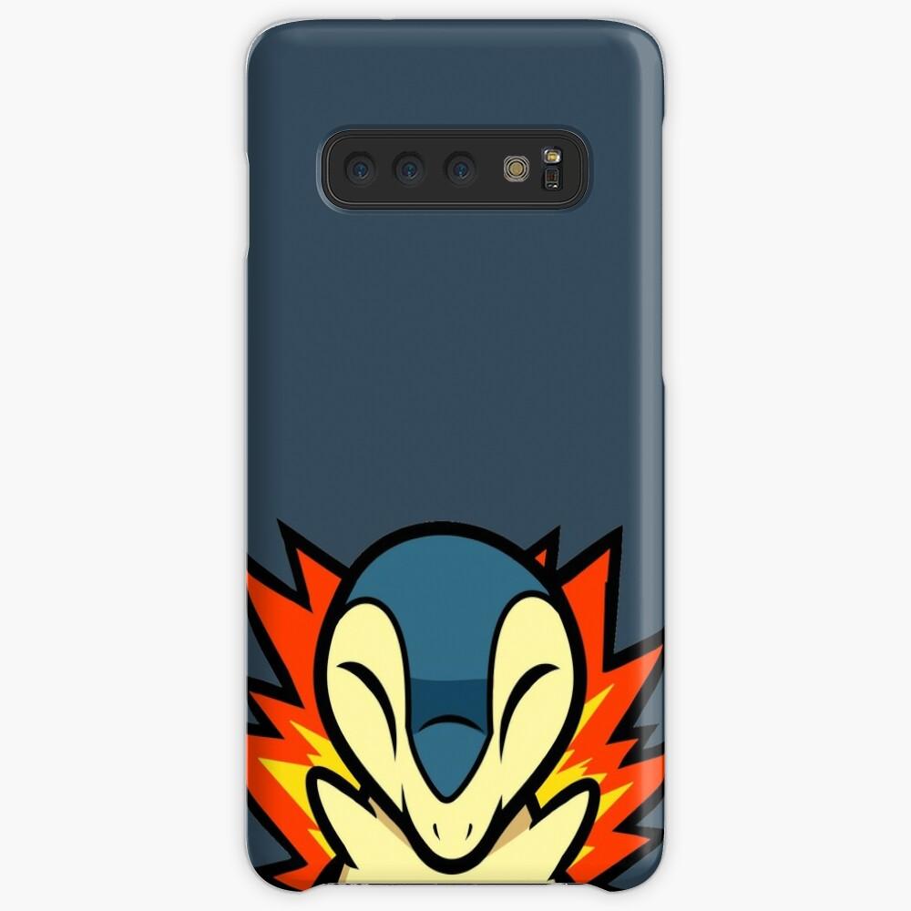 Cyndaquil Hülle & Klebefolie für Samsung Galaxy
