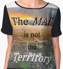 The map is not the territory Chiffon Top