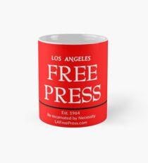 Los Angeles Free Press Red Mug Mug