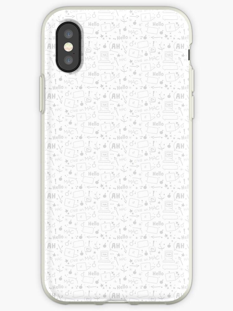 « Coque iPhone Hello! » par clairemilliet