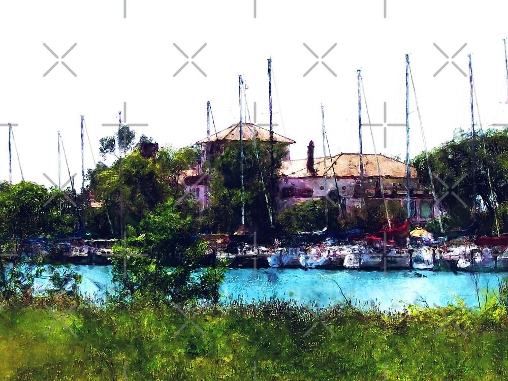 Detroit Yacht Club by Phil Perkins