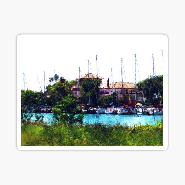 Detroit Yacht Club Sticker