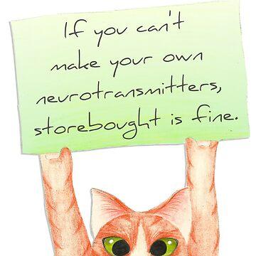 Storebought Neurotransmitters are fine. by jrivers